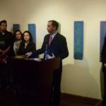 Andres Abad Director de Museo del Banco  Monica Sarmiento